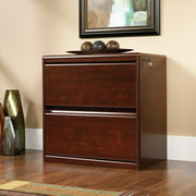 Sauder Cornerstone Lateral File Cabinet, Classic Cherry Finish