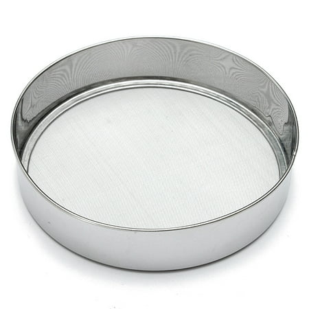Stainless Steel Flour Sifter Sieve with Fine Wire Mesh Strainer