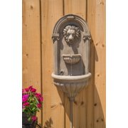 Kenroy Home Royal Outdoor Wall Fountain - Sandstone Finish