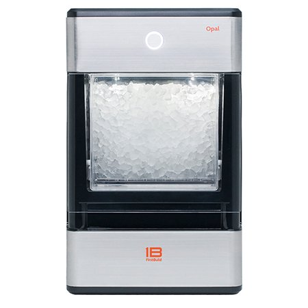 Opal Nugget Ice Maker 24lb Capacity Stainless Steel