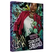 Suicide Squad Waller Poster Canvas Wall Art With Back Board