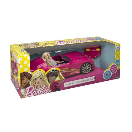 Barbie Convertible Remote Control Car