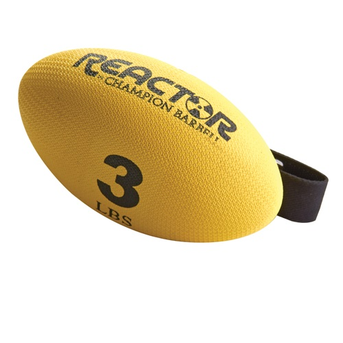 Hand Held Weights, Football Shape - 3 Lb