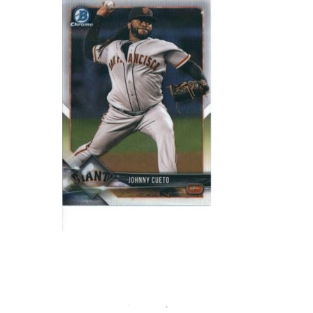 2018 Bowman Chrome #43 Johnny Cueto San Francisco Giants Baseball Card