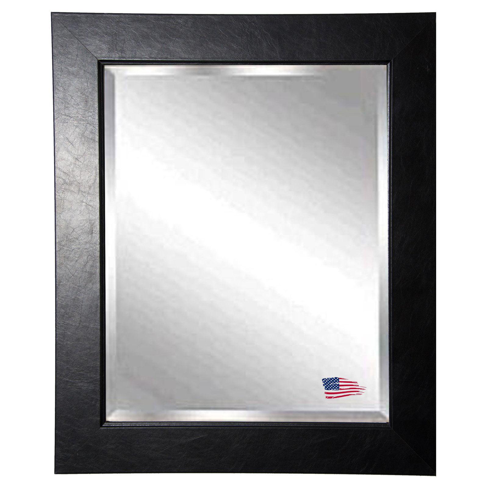 Rayne Mirrors Black Superior Wall Mirror