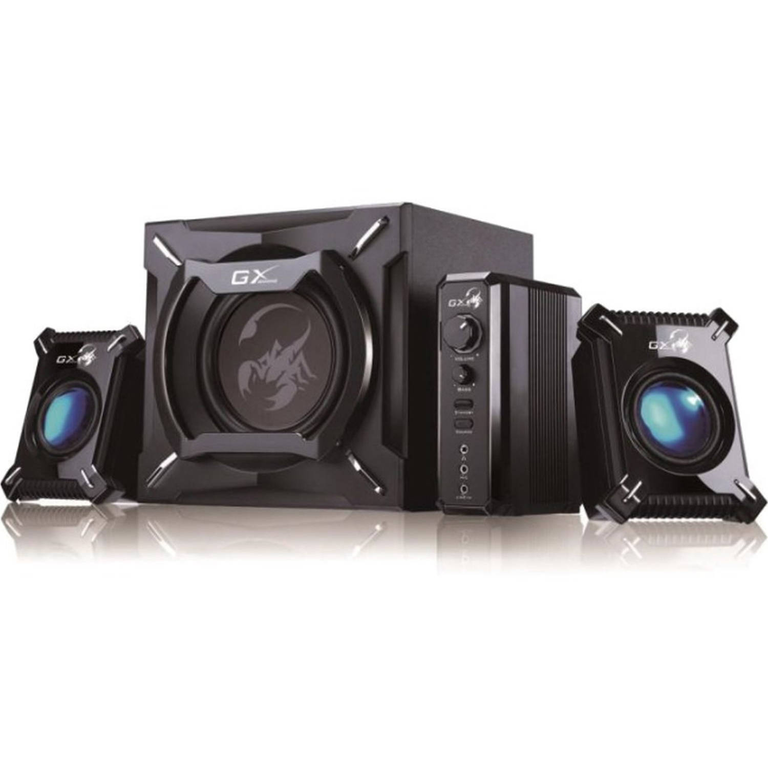 Genius Thunderclap 2.1-Channel Gaming Speaker System