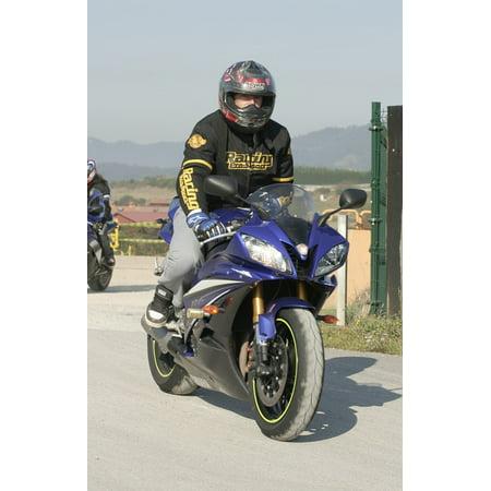 Laminated Poster Biker Motorcycle Vehicle Moto Poster Print 24 X 36