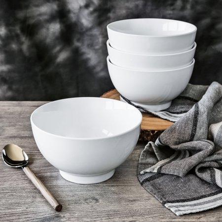 Better Homes & Gardens Set of 4 Noodle Bowls, Porcelain