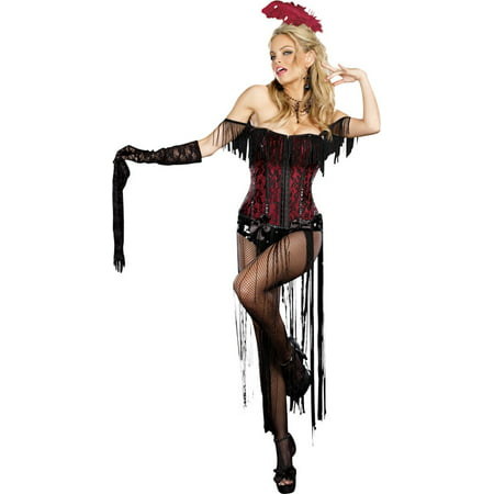 Morris costumes RL8775LG Burlesque Beauty Large](Steampunk Burlesque Costumes)