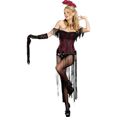 Morris costumes RL8775LG Burlesque Beauty Large