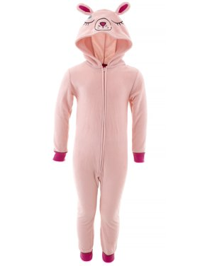 Saint Eve Girls Bunny Pink Hooded Blanket Sleeper