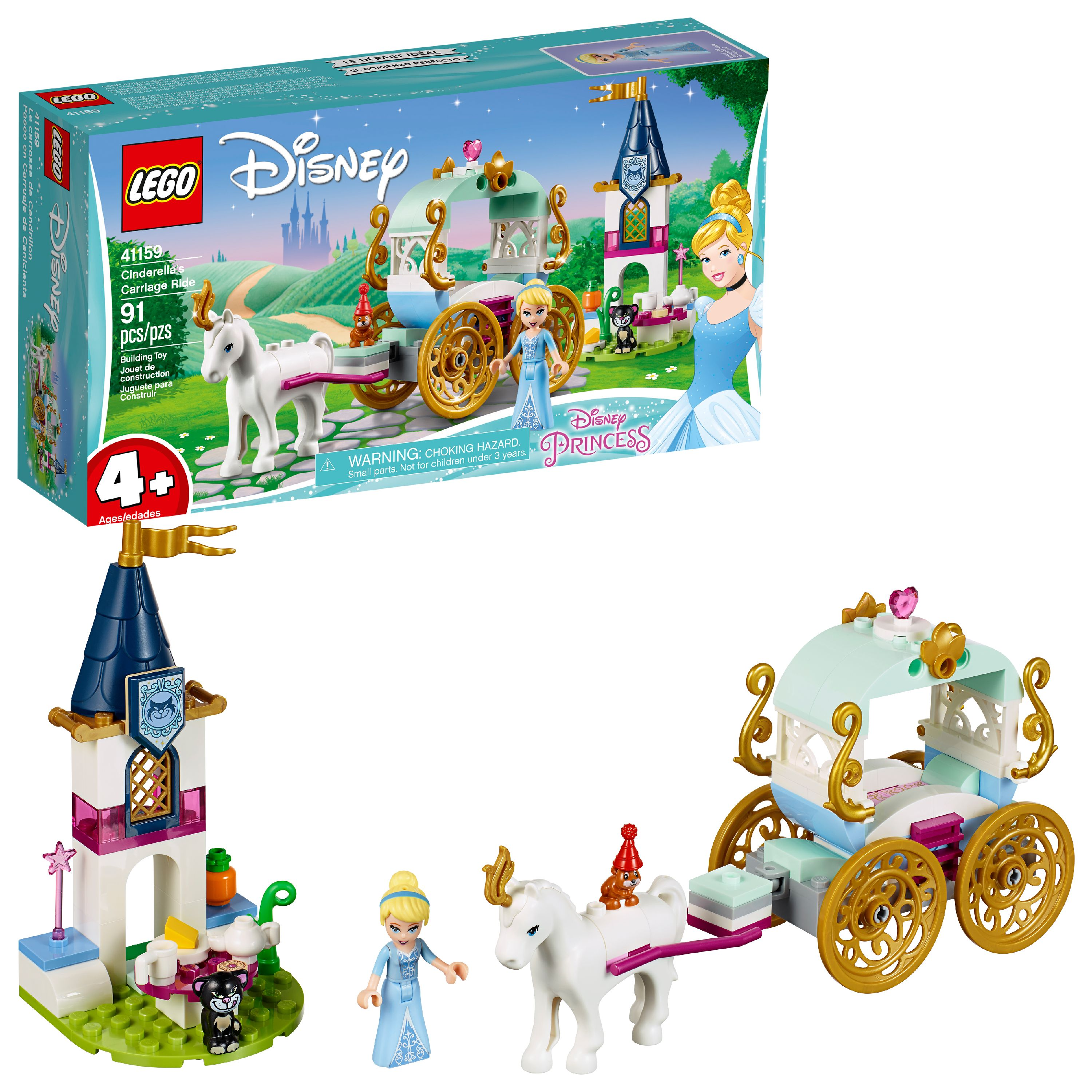 LEGO Disney Princess Cinderella's Carriage Ride Toy 41159