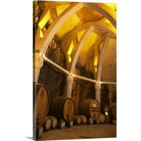 Chateau De Provence (Great BIG Canvas Per Karlsson Premium Thick-Wrap Canvas entitled Chateau Romanin, Saint Remy de Provence, Bouches du Rhone, Provence,)