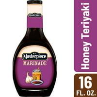 KC Masterpiece Honey Teriyaki Marinade, 16 Ounces