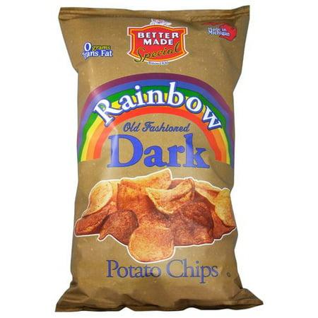 Better Made Rainbow Old Fashioned Dark Potato Chips, 11 Oz.