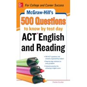 McGraw-Hill's 500 ACT English and Reading Questions to Know by Test Day - eBook