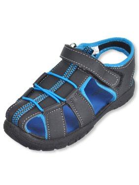 "Rugged Bear Boys' ""Cameron"" Sandals (Sizes 5 - 4)"