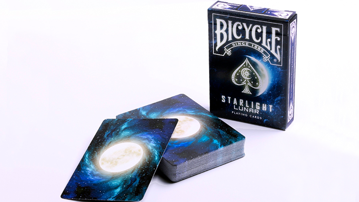 Bicycle Starlight Lunar Playing Cards by