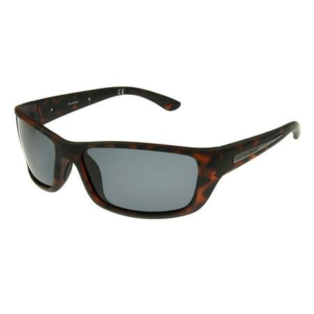 Foster Grant Men's Tort Wrap Sunglasses (Tort Sunglasses)