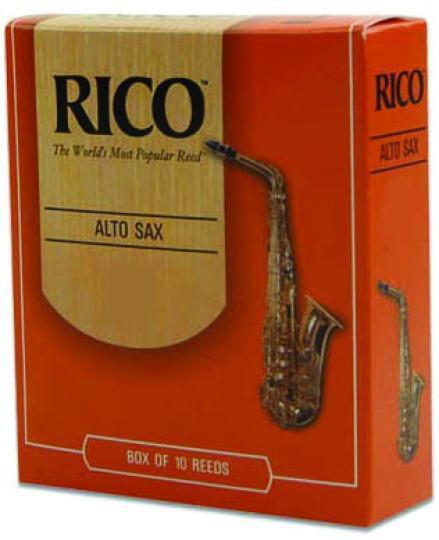 RI-Rico Reeds Rico Alto Sax Reeds No. 1.5 by Rico