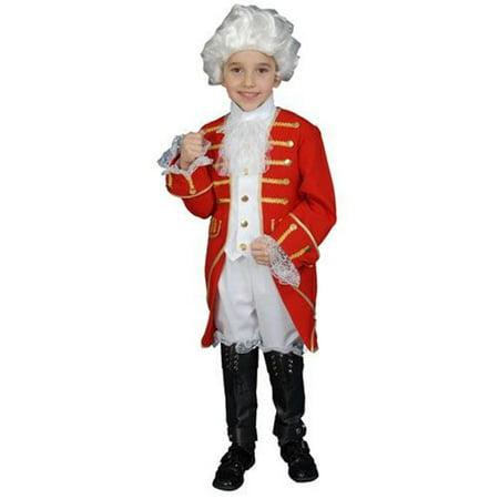 Dress Up America 377-T Victorian Boy Set Costume - Size Toddler T4 (Victorian Dress Up Ideas)