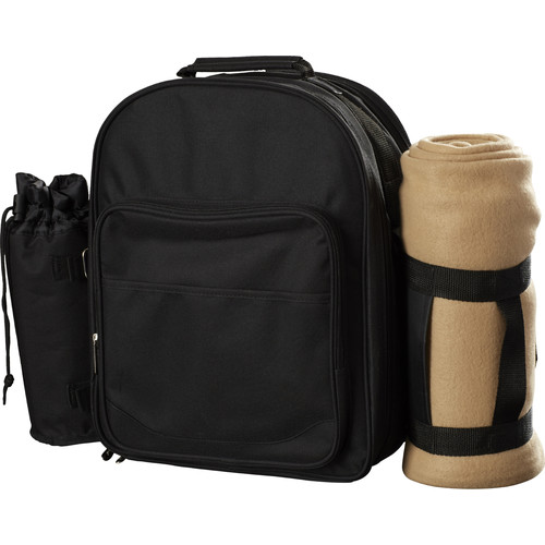 Freeport Park Backpack Cooler with Blanket & Place Settings