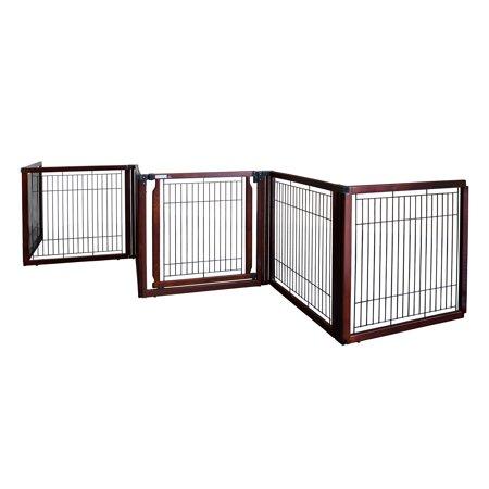 Richell Convertible Elite Freestanding Pet Gate 6 Panel