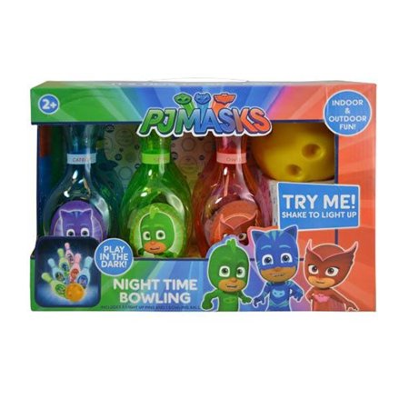 Disney PJ Masks Light-Up Bowling (7pc Set) Novelty Character Sports - Disney Character Ideas For Dressing Up