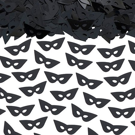 Mask Confetti Black190; Oz Pkg