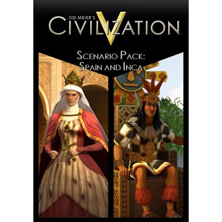 Sid Meiers Civilization V   Scenario Pack  Spain And Inca  Pc  Digital Download