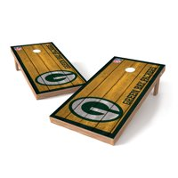 Green Bay Packers 2' x 4' Big Vintage Authentic Tailgate Toss Set - No Size