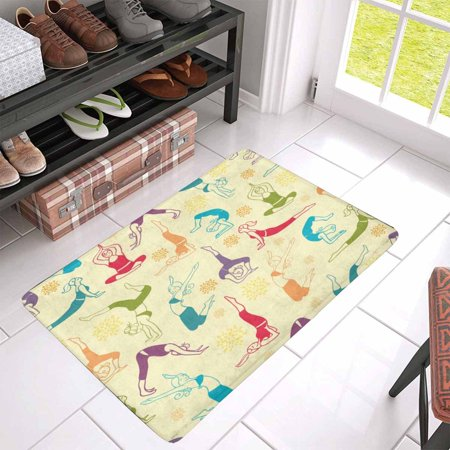 POP Workout Fitness Indoor Entrance Doormat 30x18 Inches Non Slip Door Mat Entrance Rugs Home Decor - image 2 of 3