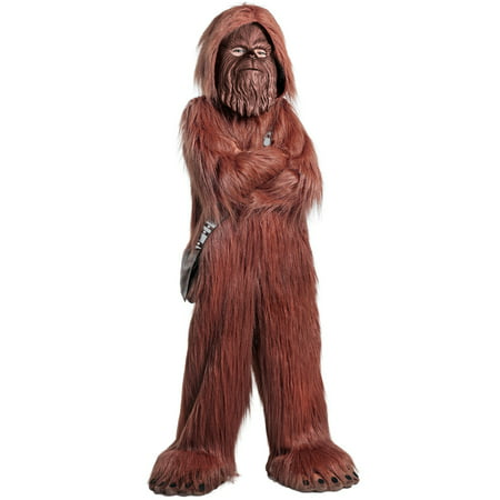 Classic Star Wars Premium Chewbacca Halloween Costume Jumpsuit (Chewbacca Costume Rental)