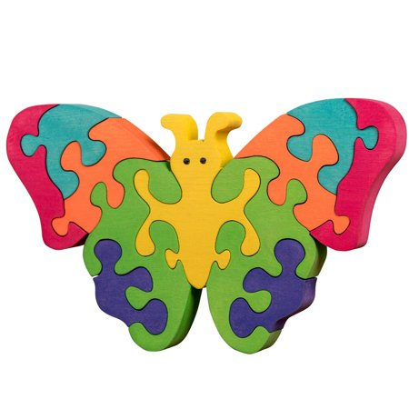 Popular Toys For 11 Year Olds (Oxemize Thick Wooden Jigsaw Puzzles for Toddlers Kids 2 3 4 5 Years Old, Developmental Toys for Girls & Boys, Butterfly, 11)