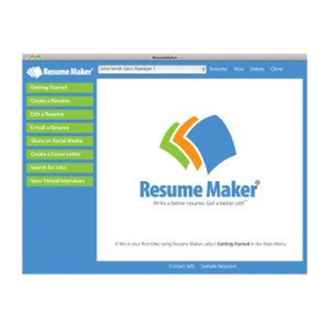 Resume Maker For Windows (Email Delivery)