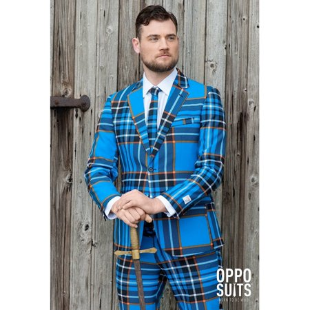 OppoSuits Men's Braveheart Lumberjack - Braveheart Costume Ideas