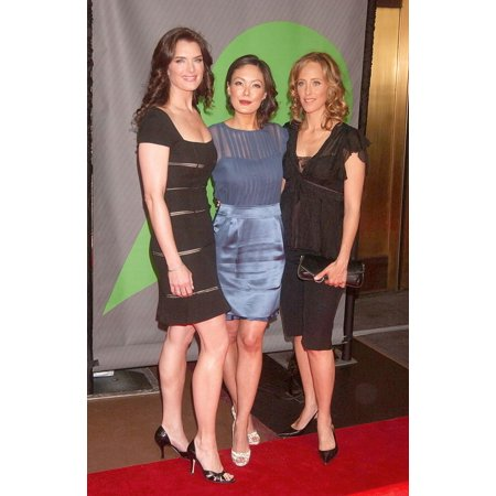 Brooke Sheilds Lindsay Price Kim Raver At Arrivals For Primetime Nbc Network Upfronts - 2007-2008 Radio City Music Hall New York Ny May 14 2007 Photo By Kristin CallahanEverett Collection Celebrity