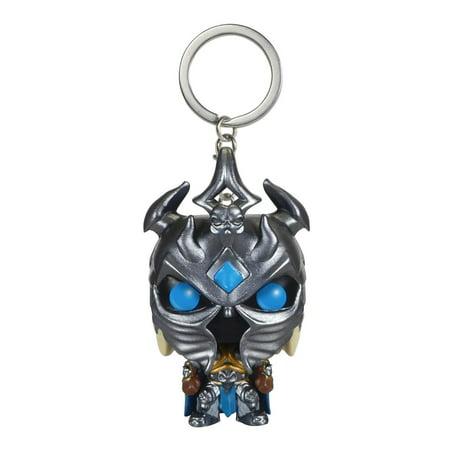 Pop Keychain  World Of Warcraft   Arthas Action Figure  Illidan Keychain Metal World Arthas Funko King Trading Woman Us Wonder Gray Vinyl Moana Harry Miniature    By Funko