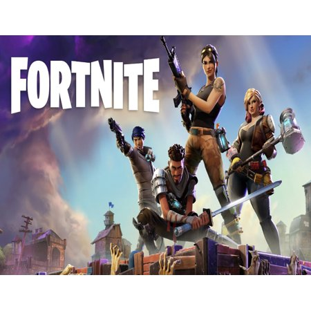 Fortnite Personalized Birthday Edible Frosting Image 1/4 sheet Cake Topper ()