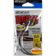 Owner BeasT Hook with TwistLOCK, 10/0, 2-Pack
