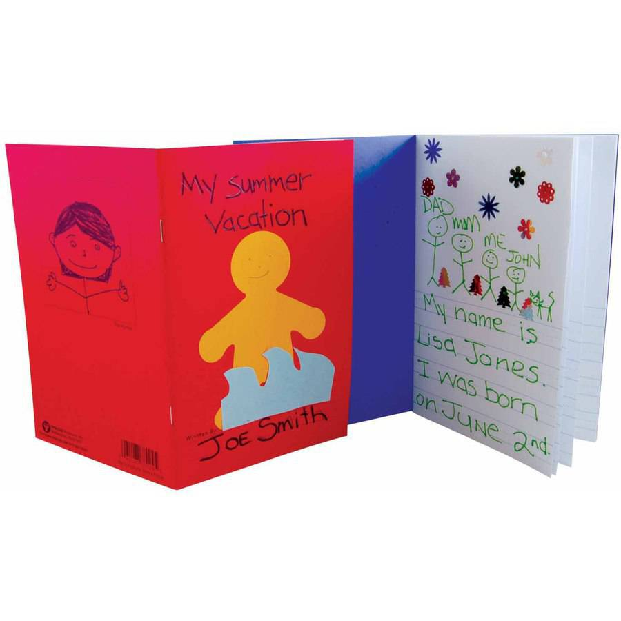 Hygloss My Storybook, 5-1/2 x 8-1/2 in, 24 Pages, Assorted Colors