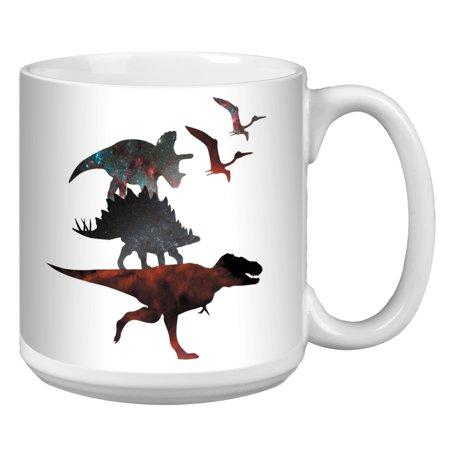 Tree-Free Greetings Dino Stack White Jumbo Mug -XM41896 - Walmart.com