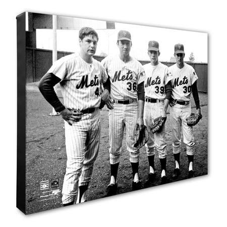 Jerry Koosman, Nolan Ryan, Tom Seaver and Gary Gentry New York Mets 16