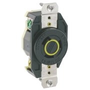 Leviton V-O-Max 20 amps 125 volt Black Outlet L5-20R 1 pk - Case Of: 1; Each Pack Qty: 1