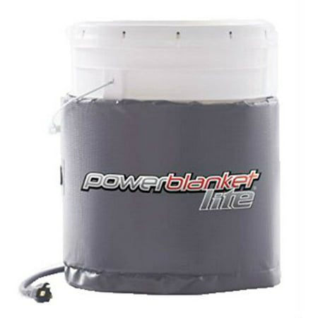 Powerblanket Lite PBL05 5-Gallon Insulated Pail Heater - Bucket Heater (5 Gallon / 19 Liter) 5 Gallon Insulated Pail