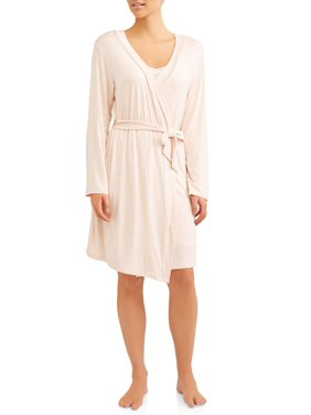 Nurture by lamaze maternity 2-piece nursing gown and robe set - available in plus size