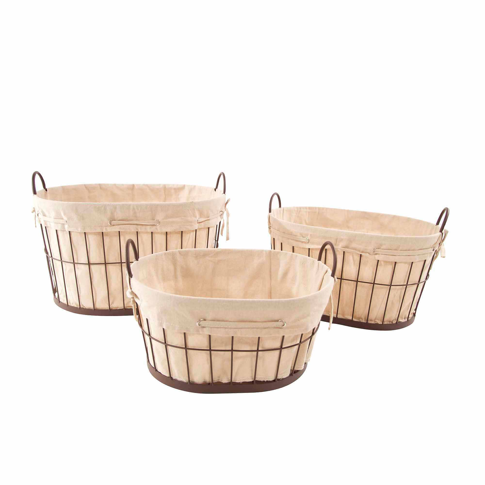 Better Homes and Gardens Medium Wire Basket with Chalkboard, Black ...