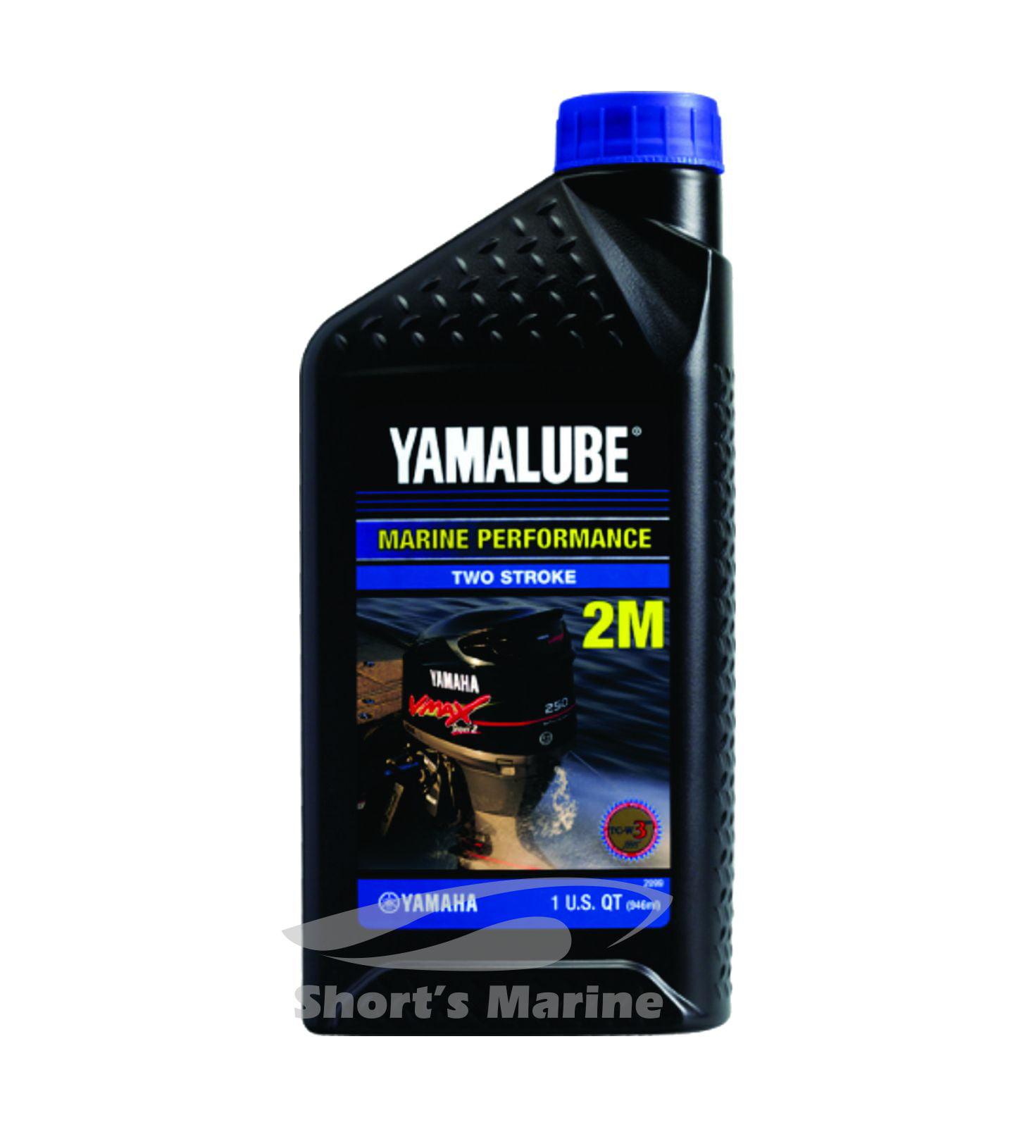 Yamaha Yamalube Outboard Marine Performance 2-Stroke TCW-3 Oil One Quart