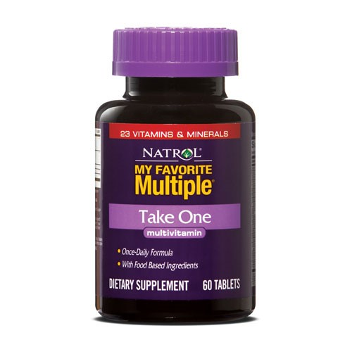 Natrol My Favorite Multiple Take One Tablets, 60 Ct