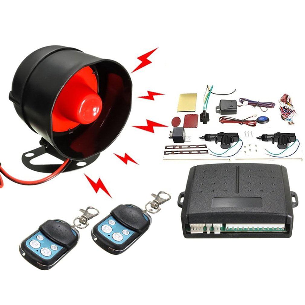 Car Alarm Remote Control System 2 Door Central Door Lock Locking Kit Set